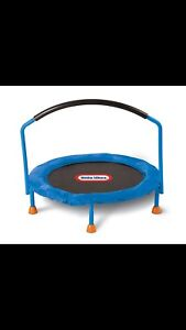 Little tykes trampoline!