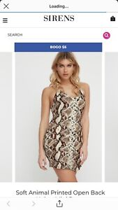 Sirens bodycon dress. Never worn. Purchased a week ago