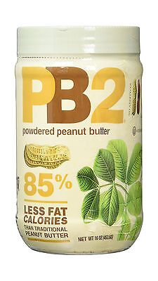 Bell Plantation PB2 Powdered Peanut Butter 1 lb Jar (2-pack) 2-... Free Shipping