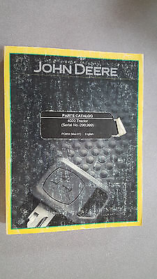 John Deere Pc859 Parts Catalog - 4020 Tractor Serial No. 200999