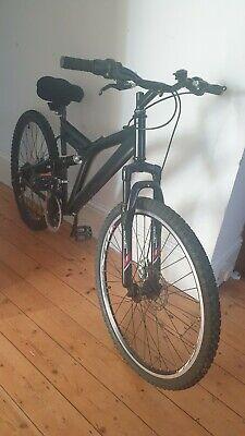 "Ladies mountain bike 26"" rims adjustable suspension,  apollo forks, shimano gear"