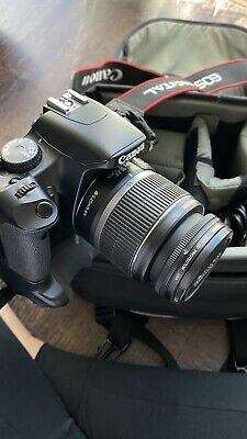 Canon EOS Rebel XSi With Two Lenses (75-300mm and 18-55mm), Straps, Case