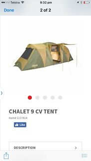 Coleman Tent 9 person