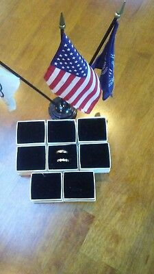 MADE IN AMERICA 2 1/4 x 2 x 1.5 (8 ea) . DOUBLE RING BOXES 99 CENTS