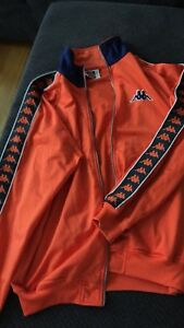 Veste KAPPA orange Large