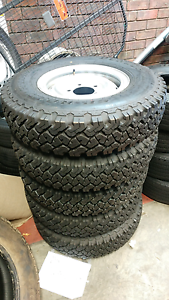5xBrand New LC70 Split Rims and Dunlop Tyres Claremont Nedlands Area Preview