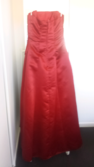 Burgundy Red Formal Gown