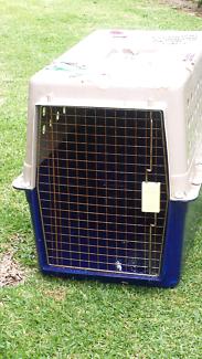Medium size dog travel cage