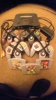 Nintendo 64, controllers, games Highgate Perth City Preview