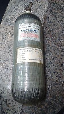 Carleton 4500psi 60min Scba Carbon Fiber Cylinder Air Tank Mfr. Date 2003 6109