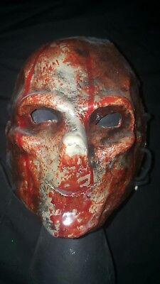 Orphan Killer Replica Mask Movie Prop plus Signed by 2 Dvd