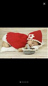 Halloween costume! Little red riding hood baby