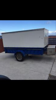 Plastic Trailer with enclosed body Hobart CBD Hobart City Preview