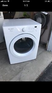 "Stackable FRigidare DRYER 27""w can DELIVER"