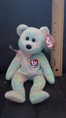 Ty Beanie Baby Celebrate 15 Year Anniversary   Mwmt  Bear