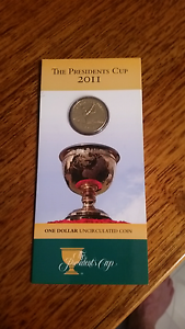 2011 presidents cup uncirc $1 coin Charlestown Lake Macquarie Area Preview