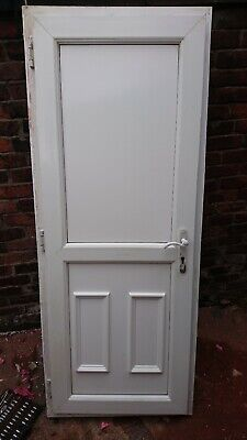 Used upvc back door and frame