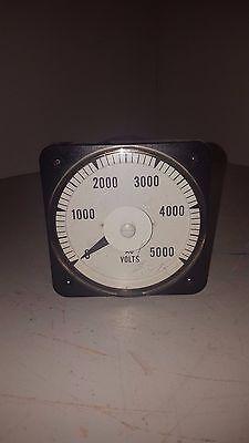 Yokogawa Volt Meter 0-5000vac 13021pzul7nkz