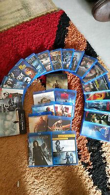 Bluray Pack 30 Filme ohne kratzer und gebrauchspuren