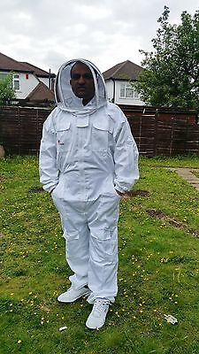 Professional Beekeeping Suit Beekeeper Suit Bee Suit With Fencing Veil-small
