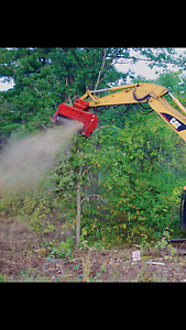 Excavator,Land clearing,mulching,slashing Salt Ash Port Stephens Area Preview