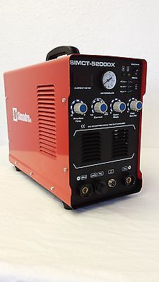 Simadre 110220v Simct-5200dx 50a Plasma Cutter 200a Tig Arc Mma Welder