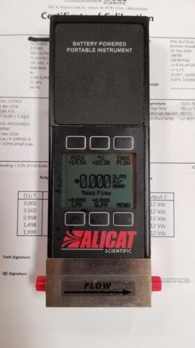 ALICAT Scientific MB-2SLPM-D Mass Flowmeter, 0-2 SLPM, NEW with CAL CERTS!