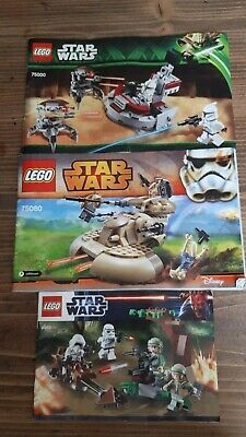 LEGO 9489 / 75000 / 75080 Star Wars with instructions and mini figures