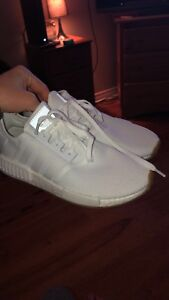 Size 10.5 white nmd