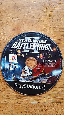 Star Wars: Battlefront II Sony PlayStation 2 PS2 - Disc Only