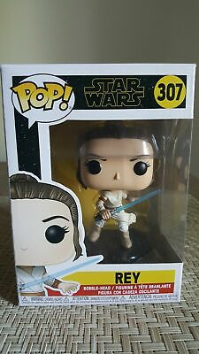 Rise of Skywalker POP Star Wars Vinyl Bobble Head Figure #309 Finn Funko POP