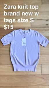 Zara knit top brand new with tags