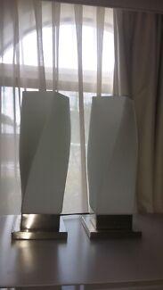 Modern bedside lamps lights Stirling Stirling Area Preview