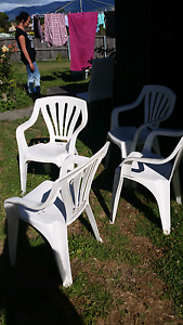 BBQ chairs plastic Gagebrook Brighton Area Preview