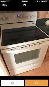 """Can deliver/30"""" Whirlpool electric stove  like new condition"""