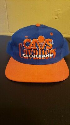 Vintage Limited Edition 1990s Cleveland Cavaliers NBA Snapback Hat Cap