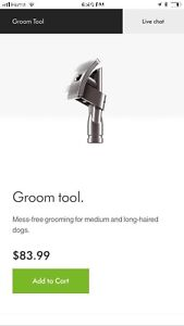 Dyson grooming attachment