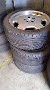 """Mercedes E-Series amg wheels/tyres 18"""" Seven Hills Blacktown Area Preview"""