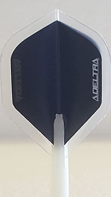 R4x Delta Clear Standard Dart Flights