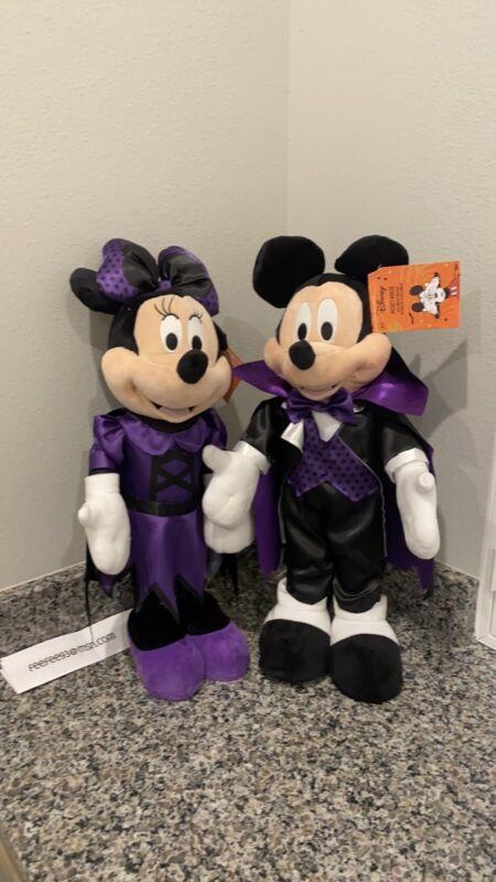 Disney mickey and minnie halloween door greeters