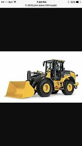 John Deere Front end loaders in PG for rent or lease