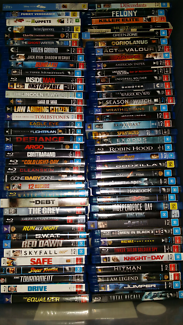 Massive Blu Ray collection only $5.00 each