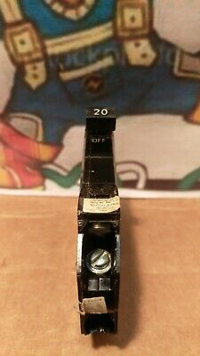 Gegeneral Electric Thqp120 20a 120v 1 Pole Type Tqp Circuit Breaker