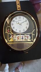 Seiko Melodies in Motion Wall Clock Beatles Works QXM115BRH