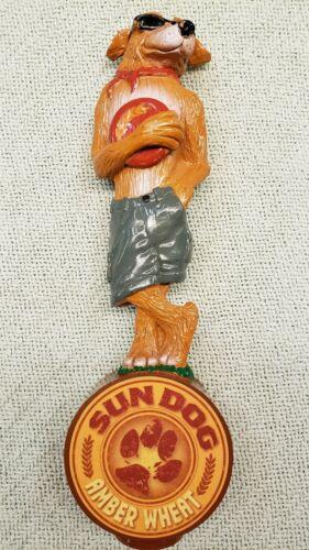 Sun Dog Amber Wheat Tap Handle