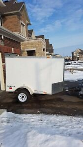 2013  4' x 6' Continental Cargo Trailer For sale!!