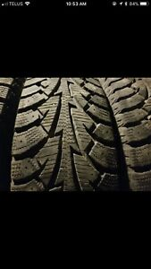 185/70R14 snow tires great condition