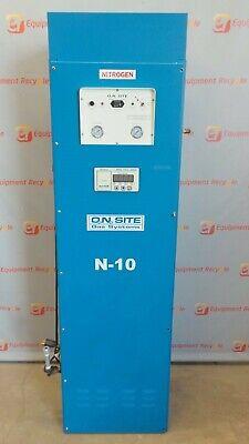 O2 N2 Ntron N-10 On Site Nitrogen Analyzer Module Oxygen Gas