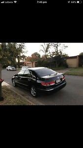 Honda Accord luxury very low kms