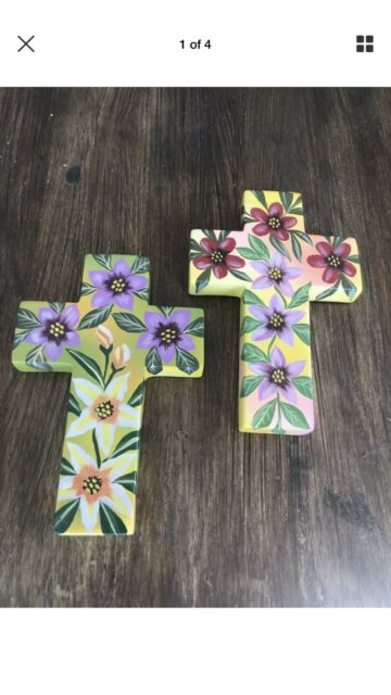 Hand Painted Wooden Crosses Decorative Accessories Gumtree